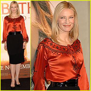 Cate Blanchett is Halloween-Ready