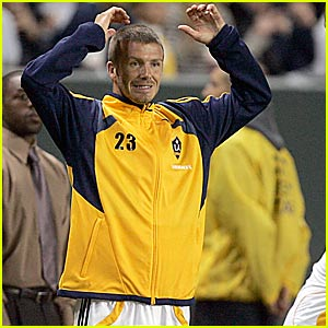 David Beckham is a Frustrated Footballer