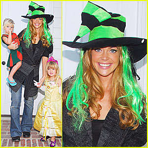 Denise Richards' Halloween Kiddie Costumes