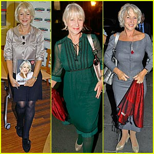 Helen Mirren Pimps Her Book