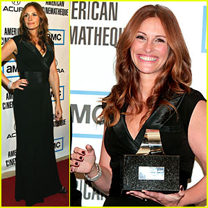 Julia Roberts Wins Cinematheque Award
