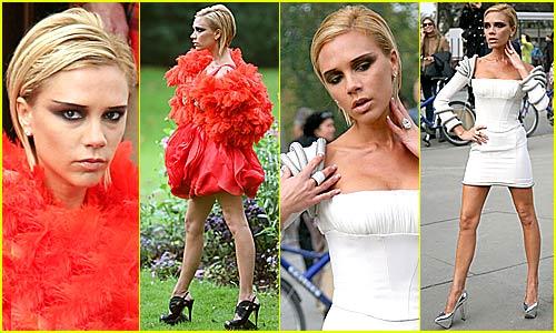 Victoria Beckham's Elle Magazine Photo Shoot