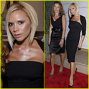Victoria Beckham @ Kelly Hoppen Book Launch