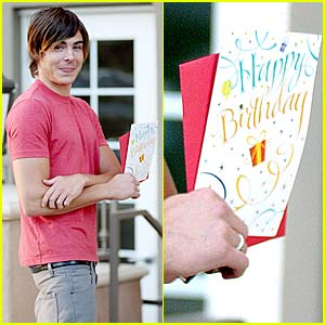 Zac Efron's 20th Birthday Bash