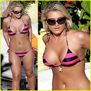 Brooke hogan sexy videos