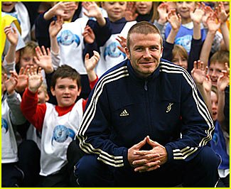 Happy Anniversary to The David Beckham Academy