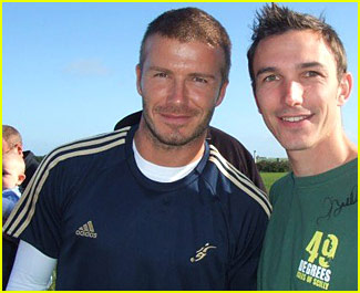 David Beckham Fan Photos