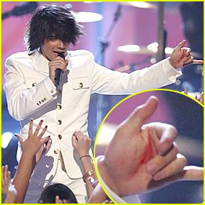 Joe Jonas Takes a Big Spill