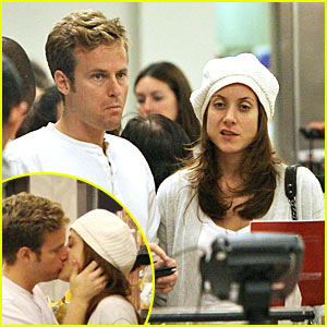 Kate Walsh and husband