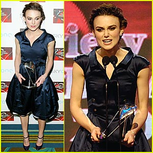 Keira Knightley @ Variety Club Showbiz Awards 2007