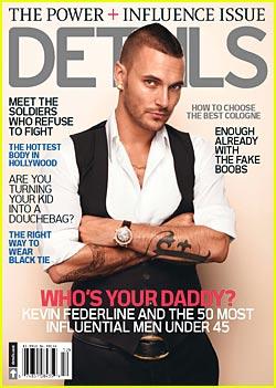 Kevin Federline is a 'Details' Cover Boy