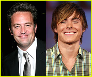 Matthew Perry is Zac Efron... Really!