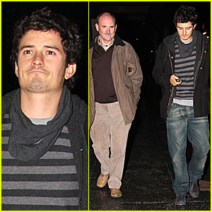 Orlando Bloom's Father Bonding Time