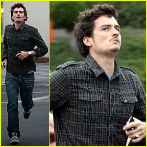 Orlando Bloom is The Running Man