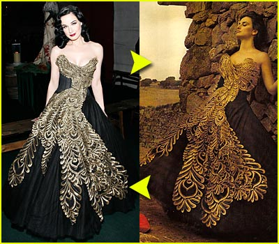 Fashion Faceoff: Marchesa Dress