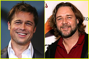 Russell Crowe to Replace Brad Pitt