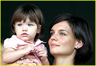 Suri Cruise Visits The Spice Girls