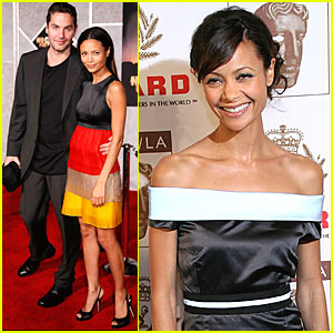 Thandie Newton & Ol Parker are Red Carpet Ready