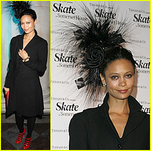Thandie Newton's Weird Hat, If You Can Call It That