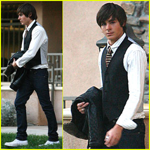 Zac Efron is a Limo Lover