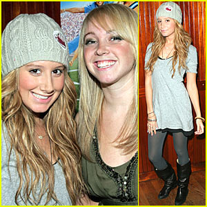 Ashley Tisdale Times Two