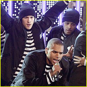 Chris Brown @ Movies Rock 2007