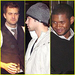 Joshua Jackson Chaces Usher