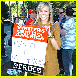 Kristen Bell - Writers are My Heroes