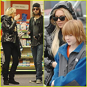 Lindsay Lohan's Sister-Brother Bonding