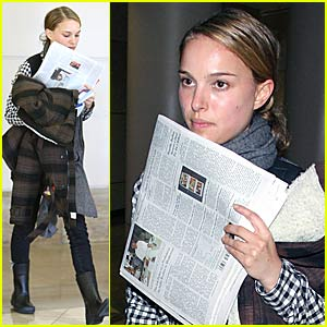 Natalie Portman Loves The New York Times