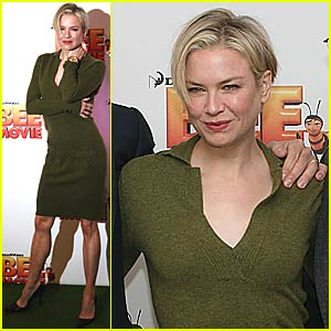 Renee Zellweger's Bee Keeps Buzzing