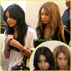 Vanessa Hudgens & Ashley Tisdale's Saturday Shopping Spree