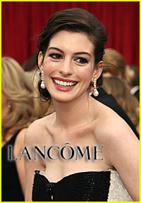 Anne Hathaway is a Lancome Lady