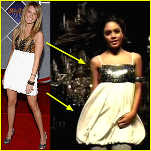 Vanessa Hudgens & Ashley Tisdale Share Clothes