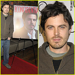 Casey Affleck is a Confidential Cover Boy