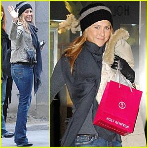 Jennifer Aniston: Oh, Canada!