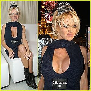 Pamela Anderson's Rockin' New Year