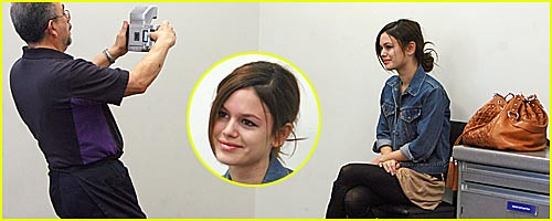 Rachel Bilson's Passport Photo Shoot