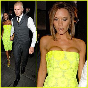 Victoria Beckham is Glowing -- Literally