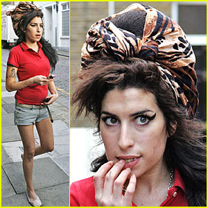 Amy Winehouse in a New House