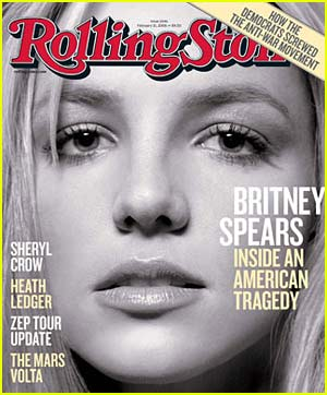 Britney Spears is a Rolling Stone Cover Girl