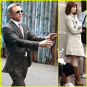 'Quantum of Solace' Filming Continues