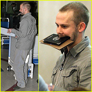 Dominic Monaghan is a Beak Boy