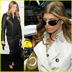 Fergie @ NY Fashion Week
