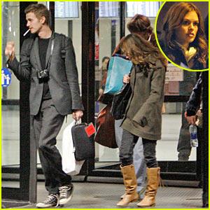 Hayden & Rachel:  When in Rome...