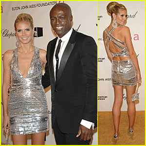 Heidi Klum and Seal Sparkle After the Oscars