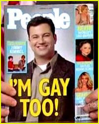 Jimmy Kimmel is Gay