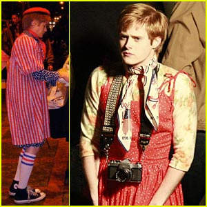 Lucas Grabeel in a Dress!