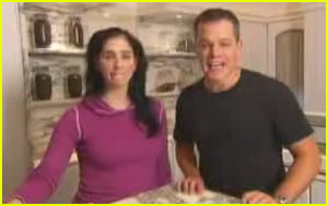 Sarah Silverman: I'm Effing Matt Damon!