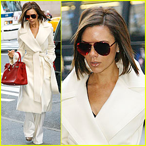 Victoria Beckham is Valentine's Day Ready